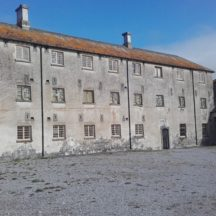 Women's Block and Yard Portumna Workhouse | Clare Doyle