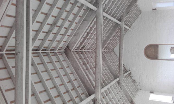 Women's Dorm roof Portumna Workhouse   Clare Doyle