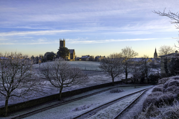 3 Churches on a December morning Ballinasloe | Robert Riddell