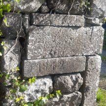 1842 stone   J.H., Annaghdown