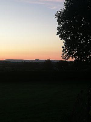 View of Croagh Patrick from Kilconly | Bride Brady