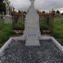 Family Plot of Kilconly Fenian Dr. Mark Ryan | Bride Brady