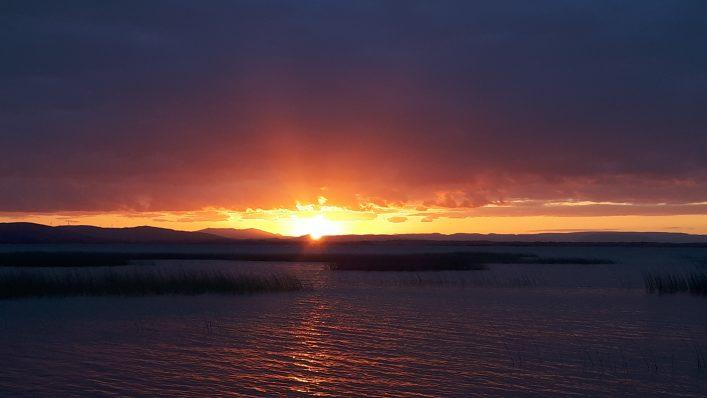 Lough Corrib sunset | Hilda Gannon