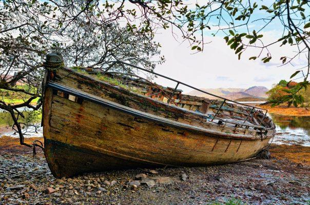 Old boat Moyard | Robert Riddell