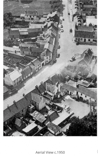 Ariel View 1950's | Oughterard Heritage