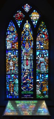 Ringling North Window, Holy Trinity Church of Ireland. Aughrim, Ballinasloe | Robert Riddell
