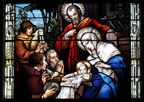 The Nativity Clontuskert Church | Robert Riddell