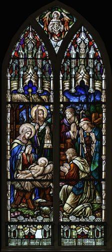 The Nativity, St Cuans Church, Ahascragh | Robert Riddell