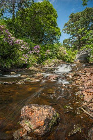 Tullywee Bridge, Kylemore  | Robert Riddell