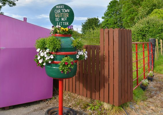 Laurencetown tidy towns   Robert Riddell
