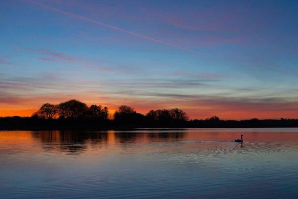 Lough Acalla sunset   Robert Riddell