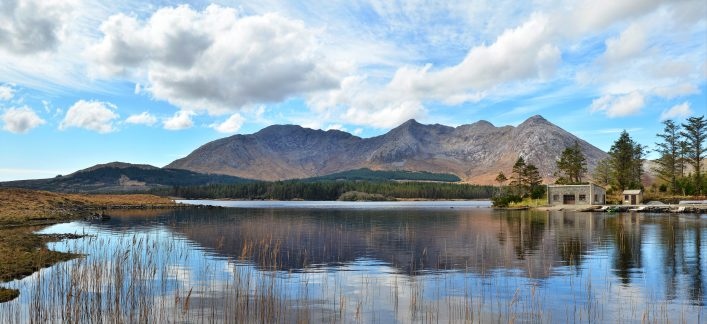 Lough Inagh Boathouse | Robert Riddell