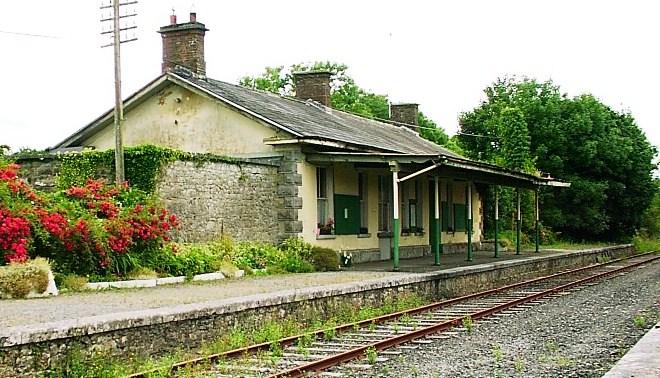 Coolfowerbeg - Ballyglunin station   Bernadette Forde