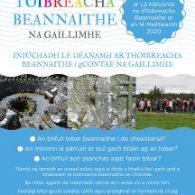 Poster in Irish