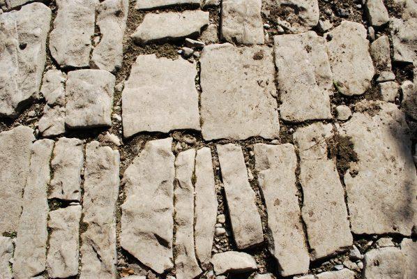 a rare stone floor, underneath its three arches | Paul Connolly