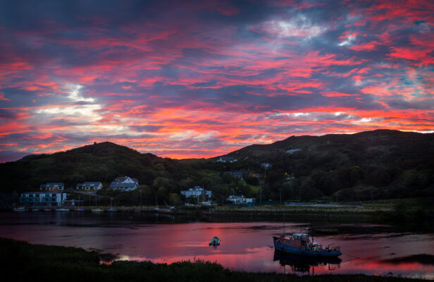Clifden Sunset | Roger Harrison