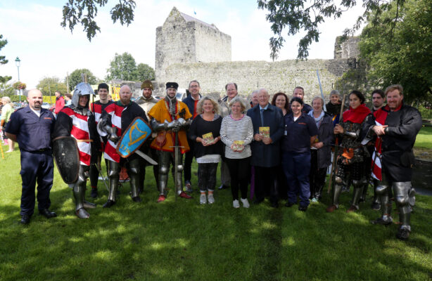 Cathaoirleach of Municipal District of Athenry - Oranmore Cllr. Jim Cuddy officially opened the Athenry Walled Town's Day  | Photo: Hany Marzouk