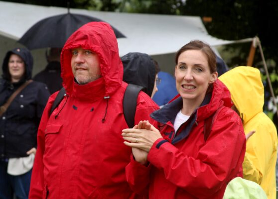 Gionanvi and Laura Onorato at the Athenry Walled Towns Day, Co. Galway. | Photo: Hany Marzouk