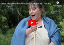 Athenry Virtual Medieval Festival 2020 - Butter Churning