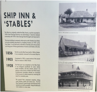 Ship Inn and 'Stables'