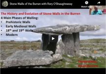Stone Walls of the Burren with Rory O'Shaughnessy