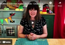 Medieval craft mini makes for kids - Create a dragons egg and an origami dragons eye
