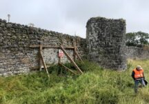 Athenry Town Wall Conservation Works 2021