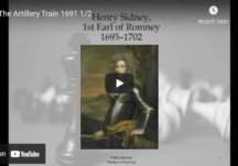 The Artillery Train 1691