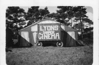 Lyons Cinema 1958 |  Photo Courtesy of Maurice Lyons