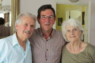 Harry & Eileen McFadden with Sean Conneely | Photo: Gerry Costello