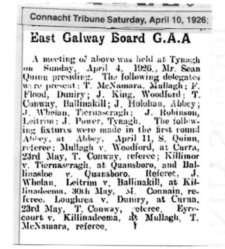 East Galway Board G.A.A.