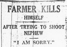 Farmer Kills Himself