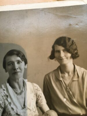 Celia and Mary Madden. Delias sisters.